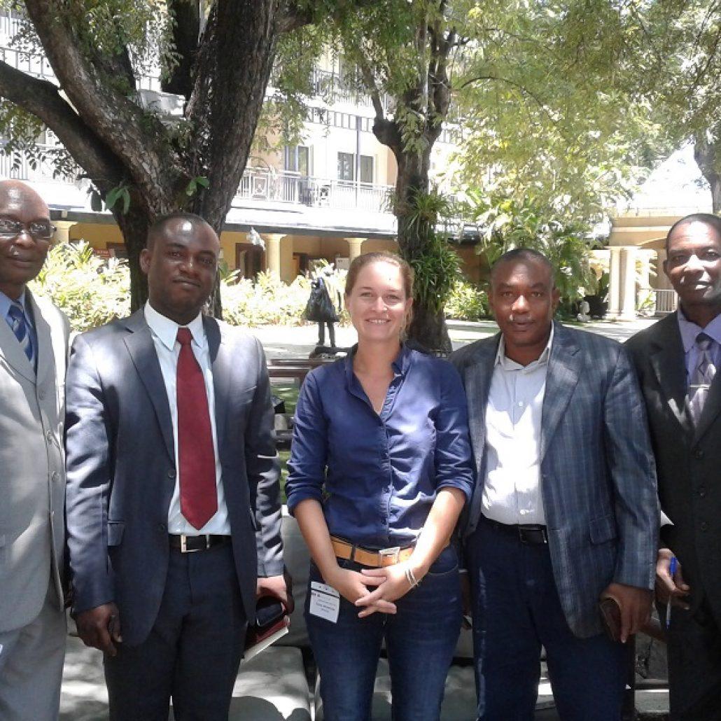 Meeting in Haïti