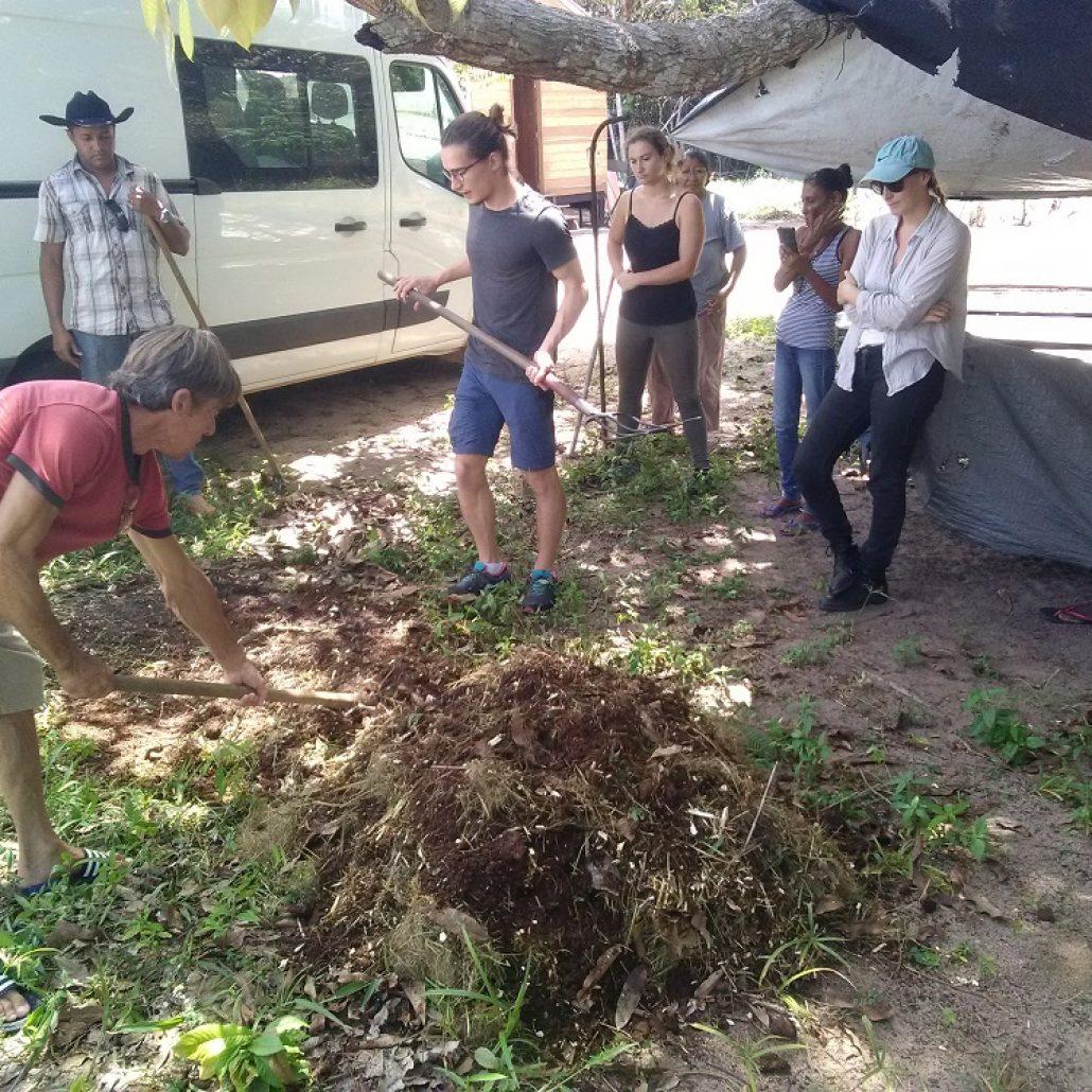 atelier compost GoPei le 26 mars, formation en salle + atelier participatif chez un agriculteur