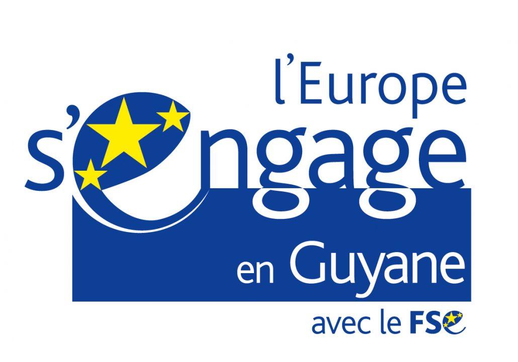 logo l'europe s'engage en guyane