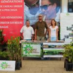 Solicaz à la Foire aux plantes au centre commercial de Remire-Montjoly 2